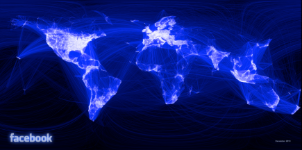 Facebook's Global Social Network Visualized